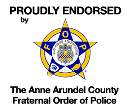 Allison Pickard is endorsed by the Anne Arundel County Fraternal Order of Police